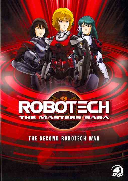 ROBOTECH: SECOND ROBOTECH WAR THE MAST BY ROBOTECH (DVD) [4 DISCS]